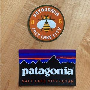 Patagonia Salt Lake City, Utah stickers